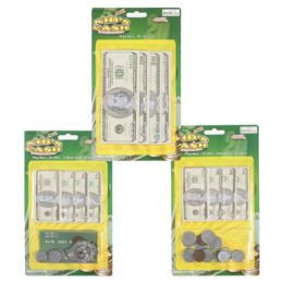 48 Units of Play Money Money Money - Coin Holders & Banks