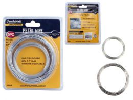 24 Units of 2pc Galvanized Wire - Wires