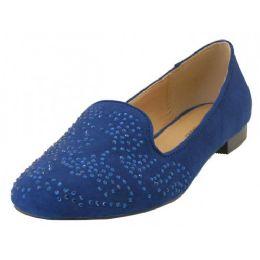 """12 Units of Women's """"angeles Shoes"""" Ballet Flat Shoe ( *navy Color ) - Women's Flats"""