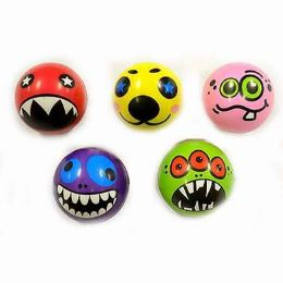 24 Units of FUNNY FACE SQUEEZE STRESS BALL - Slime & Squishees