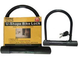 24 Units of U-Bike Lock W/2keys - Biking