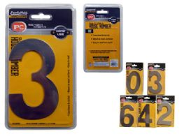 "240 Units of House Numbers 0-9 4.5"" H SILVER - Hardware"