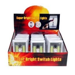 24 Units of Super Bright Cob Switch Light - Flash Lights