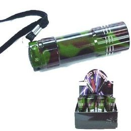 24 Units of Led Camouflage Flashlight - Flash Lights