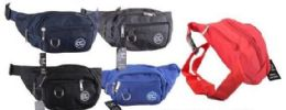 24 Units of Assorted colors Fanny Pack - Fanny Pack