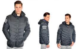 24 Units of Men's Fashion Bubble Jacket - Mens Jackets