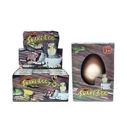 48 Units of Snake Grow Hatching Egg - Magic & Joke Toys