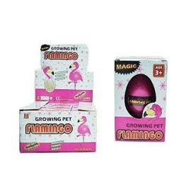 48 Units of Flamingo Grow Hatching Egg - Magic & Joke Toys