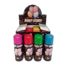 48 Units of PARTY SILLY STRING - Party Favors