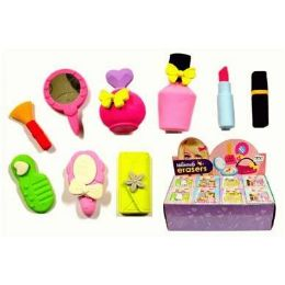 48 Units of Beauty Shaped Eraser - Erasers