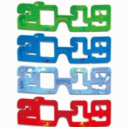 48 Units of FLASHING SMALLER SIZE GLASSES - Party Favors