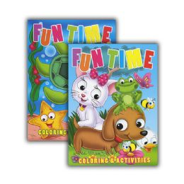 48 Units of Fun Time Coloring & Activity Books - Coloring & Activity Books
