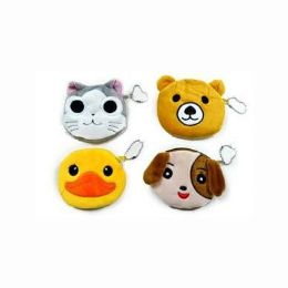 48 Units of Assorted Animals Coin Purse - Coin Holders & Banks