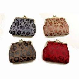 48 Units of Animal Skin Print Clasp Coin Purse - Coin Holders & Banks