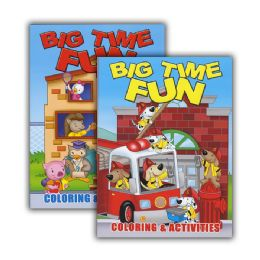 48 Units of Big Time Fun Coloring & Activity Book - Coloring & Activity Books