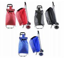 6 Units of Large Tote Shopping Cart Polka Dot - Shopping Cart Liner