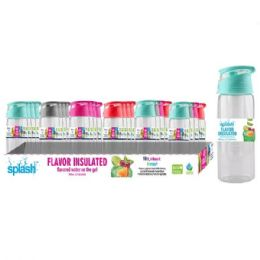 24 Units of Sport Bottle With Fruit Infuser - Drinking Water Bottle