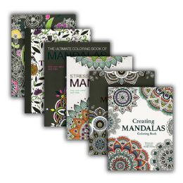 48 Units of Mandalas Coloring Book for Adults - Coloring & Activity Books