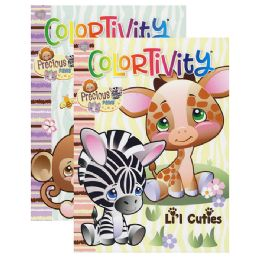 48 Units of PRECIOUS PAWS Coloring & Activity - Coloring & Activity Books