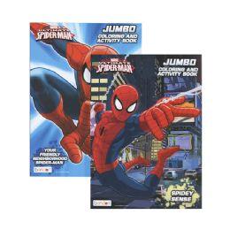 36 Units of ULTIMATE SPIDERMAN Jumbo Coloring & Activity Book - Coloring & Activity Books