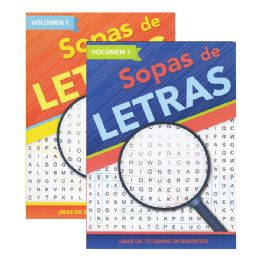 48 Units of CrucigramA-Sopas De Letras iv - Crosswords, Dictionaries, Puzzle books