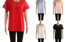 48 Units of Womens Fashion Top Assorted Solid Color - Womens Fashion Tops
