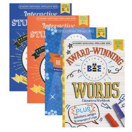 48 Units of Kappa Spelling Bee Workbook - Crosswords, Dictionaries, Puzzle books