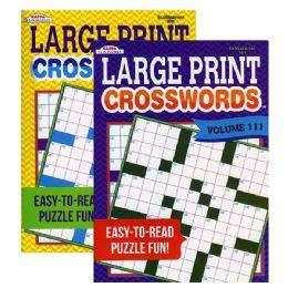 48 Units of KAPPA Large Print Crosswords - Crosswords, Dictionaries, Puzzle books