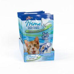 12 Units of Cat Treats Tasty Tuna Flavor - Pet Chew Sticks and Rawhide