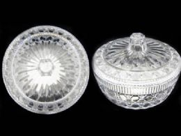 48 Units of CrystaL-Like Candy Jar - Serving Trays