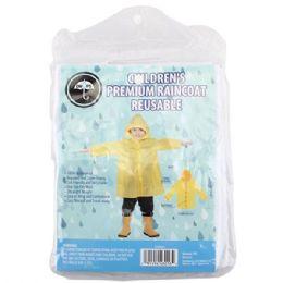 48 Units of Children Raincoat - Umbrellas & Rain Gear