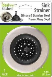 48 Units of Silicone Sink Strainer - Strainers & Funnels