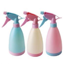 48 Units of 500 mL Pastel Colored Spray Bottle - Spray Bottles