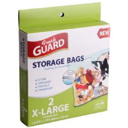72 Units of 2 Pack X-Large Storage Bag - Storage Holders and Organizers