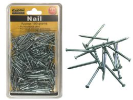 "72 Units of Nail 1.2"" 180gm Chrome Plated - Hardware"