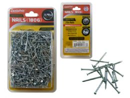 "72 Units of Nail 0.75"" 180gm Chrome - Hardware"