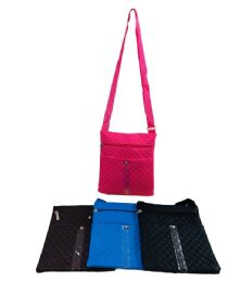 24 Units of Small Cross Body Purse [quilted] - Handbags