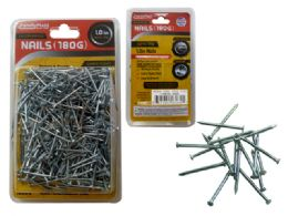 "72 Units of 1"" 180gm Chrome Plated Nails - Hardware"