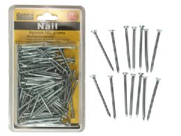 "72 Units of Nail 1.5"" 180gm Chrome Plated - Hardware"