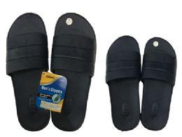 48 Units of Men's EVA Slippers, Size 7-12 - Men's Slippers