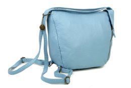 12 Units of The Joia Convertible Sack Crossbody - Baby Blue - Handbags