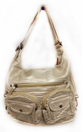 12 Units of Convertible Crossbody Backpack - Champagne - Shoulder Bags & Messenger Bags