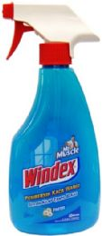 180 Units of Windex 500mL Fresh Blue Scent Shipped By Pallet - Cleaning Products