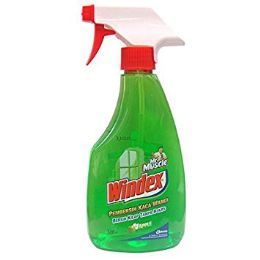 180 Units of Windex 500mL Apple Green Scent Shipped By Pallet - Cleaning Products
