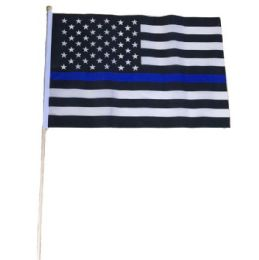 72 Units of Stick Flag Dont Blue Lives Matter - Signs & Flags