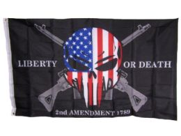 24 Units of Liberty Or Death Flag - Signs & Flags
