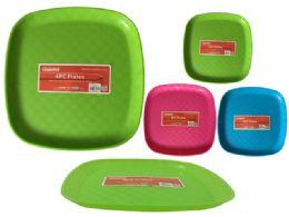 48 Units of 4pc Plastic Plates - Plastic Bowls and Plates