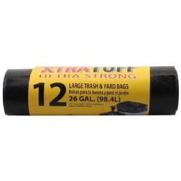 48 Units of 12 Count Xtratuff Trash Bag Roll - Garbage & Storage Bags