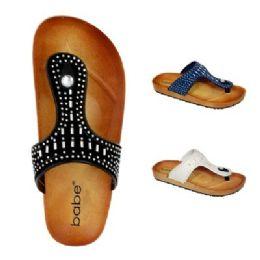 30 Units of Womens Rhinestone Sandal - Women's Sandals