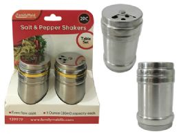 72 Units of 2 Piece Salt And Pepper Shakers - Kitchen Gadgets & Tools